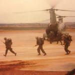 Boarding troops, March 1967